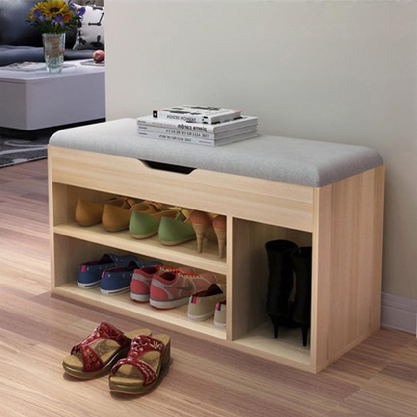 Simple Modern Shoe Storage Stool