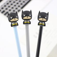 36 Pcs Gel Pens Hero Spider Black Colored Kawaii Gift Gel-ink For Writing Cute Stationery Office School Supplies