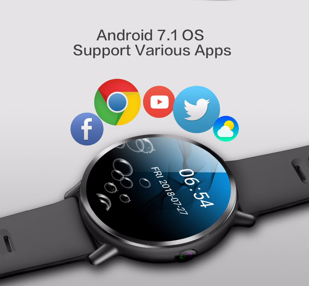 Smart Watch with Android 7.1 3