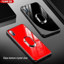 Здесь можно купить   Trending Red Magnetic Phone Case Cover For iphone 6 7 8 Plus 6 Plus Luxury Case For iPhone 7 Plus Case With Tempered Glass Back Mobile Phone Accessories & Parts