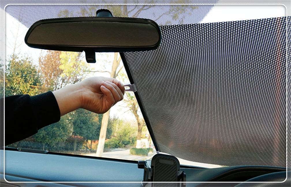Car retractable sun visor front windshield cover auto curtain for BMW M240i M140i 530i 128i i8 Z4 X5 X4 X2 X3 3-series