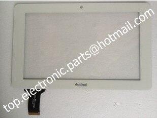 Новый белый цвет 7 ''дюймовый Емкостный дигитайзер сенсорный экран сенсорный стеклянная панель для ainol novo 7 кристалл tablet pc бесплатно доставка