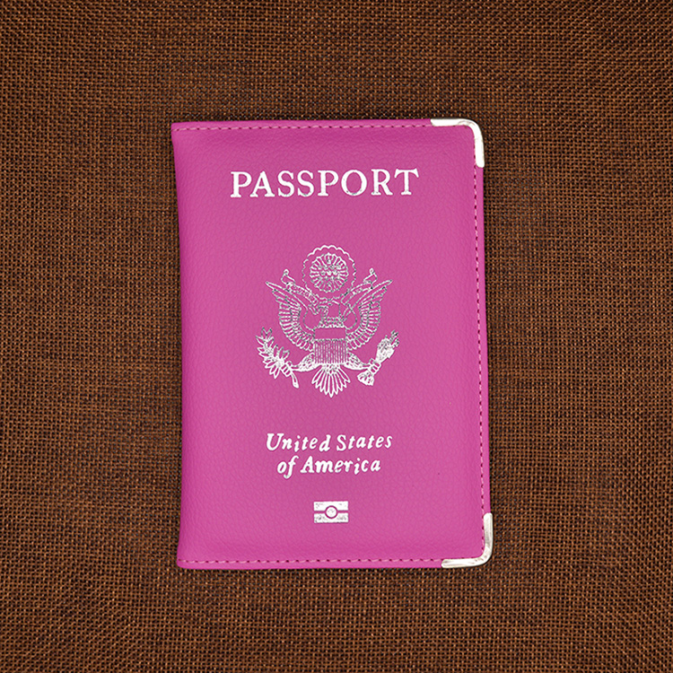 Travel Leather Covers for Passports USA America Passport ...