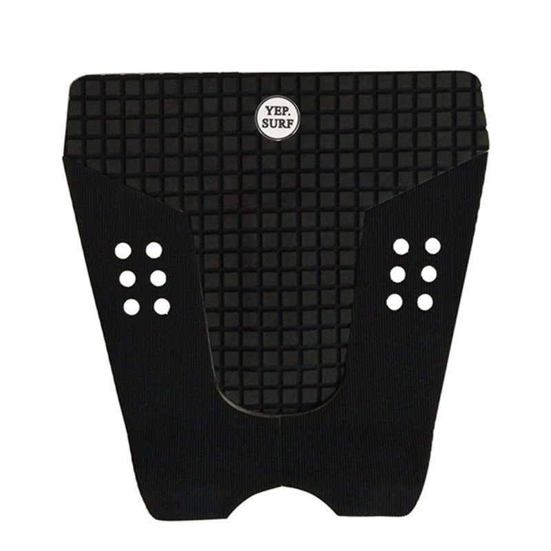 Traction Pad Surf Tail Pad Surf Grip Deck Surf White/ Black New Design Hot Sale Straight Square Skid Resistance