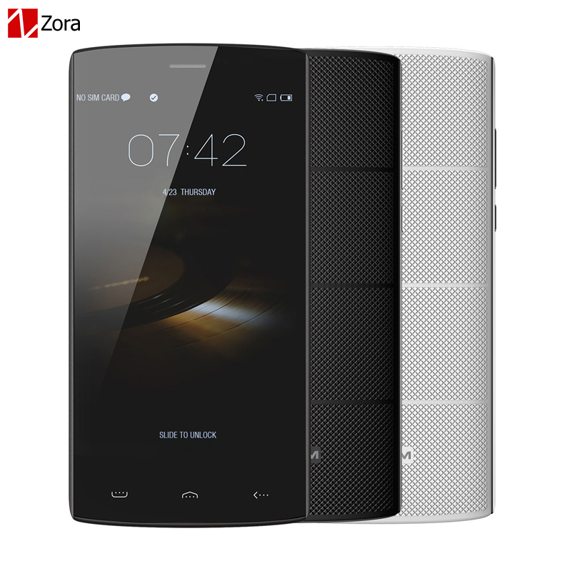 Original HOMTOM HT7 5 5 Inch Android 5 1 Cell phones MTK6580A Quad Core Unlocked 3G