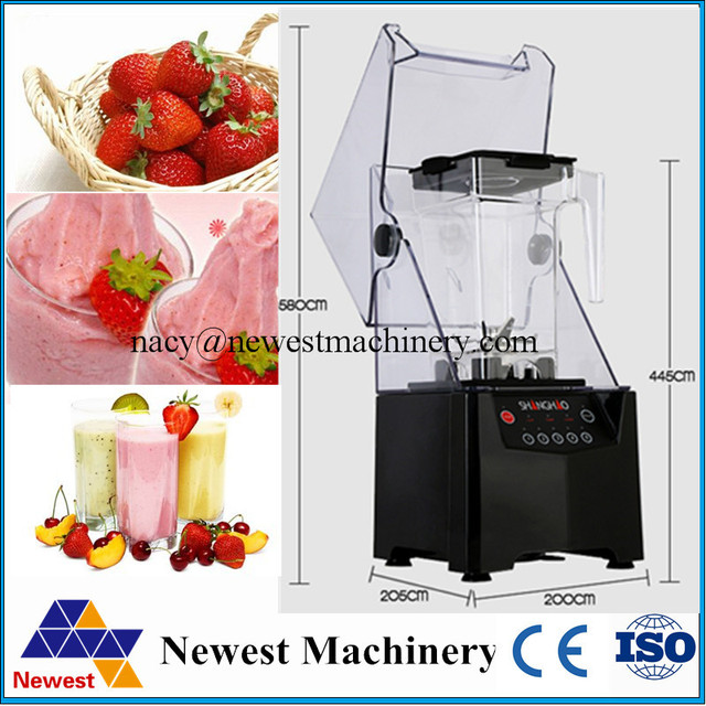 Us 299 0 Free Shipping Blenders High Power Ice Blender Commercial Large Capacity With Fruit Blenders For Restaurant In Blenders From Home Appliances