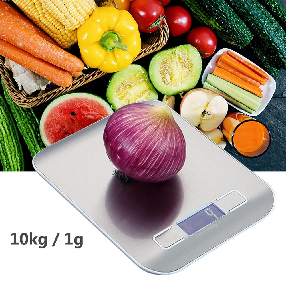 Kitchen scale 10KG/1g Balance Quality Electronic Scales weighting food scales Portable digital scales for Kitchen 1000g