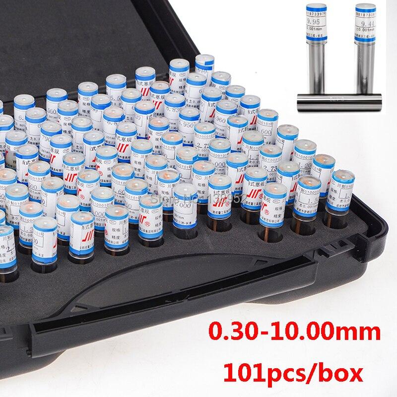 0 30 10 00mm step 0 1mm Steel Pin Gauge Pin measure gauge Smooth Plug Gauge