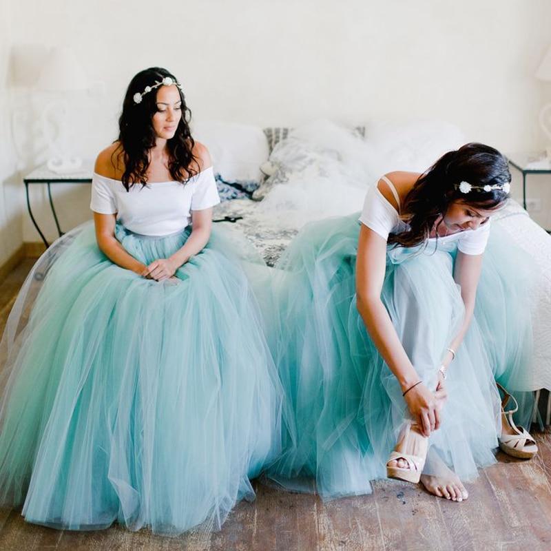Prêt à expédier grand Discourt Promotion 2016 pas cher balle blanc bleu Cap manches courtes robe de demoiselle d'honneur pour les femmes