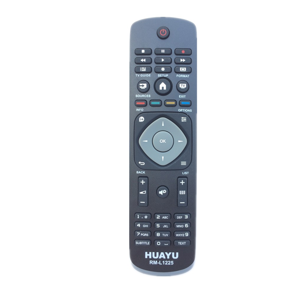 RM-L1225 Remote Control Replace for Philips UHD7800 Seriesled TV RC400 RC19036002 2423549001834 RC7812 RC115300101 RC2543 chunghop rm l7 multifunctional learning remote control silver