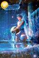 Толщиной световой созвездие Водолей Головоломки 1000 шт. бесплатная доставка декоративная роспись школа для взрослых головоломки
