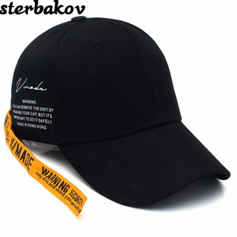 GD Ring Long Belt Cotton Baseball Cap Hip Hop Fashion Men's KPOP BTS Peaceminusone Bone Summer Hats Women's snapback hat