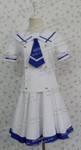 Is the Order a Rabbit? Kafu Chino Kafuu Cosplay Costume