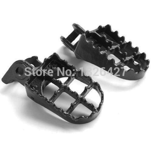 Motorcycle Accessories Aluminum Footpeg Footrest For Honda CR125 CR250 1995 1999 1996 1997 1998