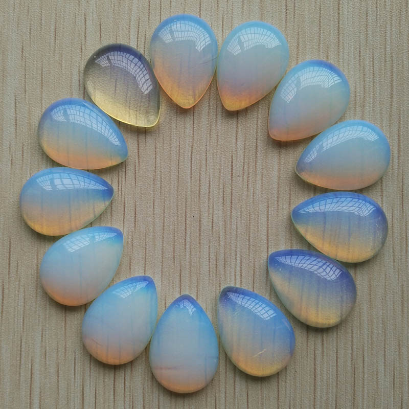Wholesale 20pcs/lot 25x18mm good quality opal stone teardrop CAB CABOCHON beads for DIY jewelry accessories Free shipping