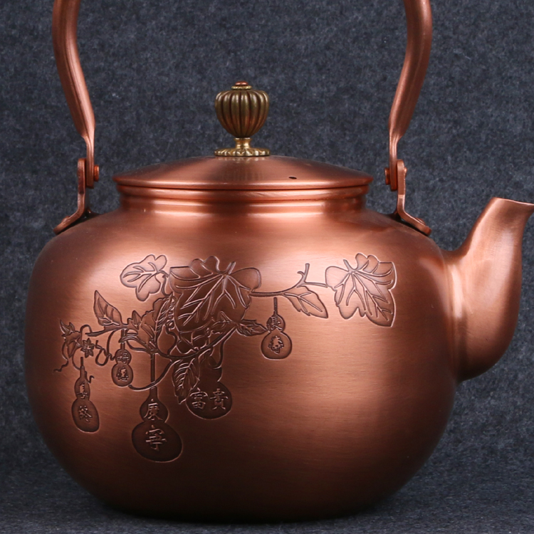 Copper Tetsubin Teakettle 1