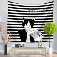 Fashion Cool Catwoman Mandala Pattern Printing Wall Hanging Decorative Wall TapestriesTapiz Mandalas Para Paredes