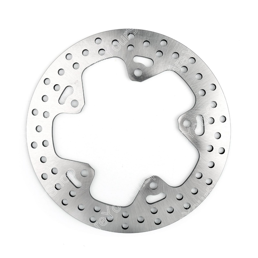 Areyourshop Hot Sale Stainless Steel Rear Brake Disc Motorcycle Brake Disc for BMW R 1200 GS 1200 13-14 REAR-L 1200 RS RT rear brake disc rotor fit bmw r 1200 gs 13 15