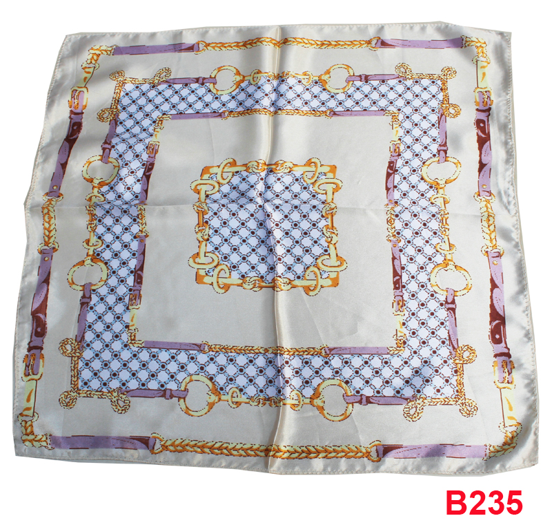 Baby Girl Boy Saliva Towel,fashion Women silk Scarves,50*50cm silk scarf female Spring and Autumn paragraph small square scarf