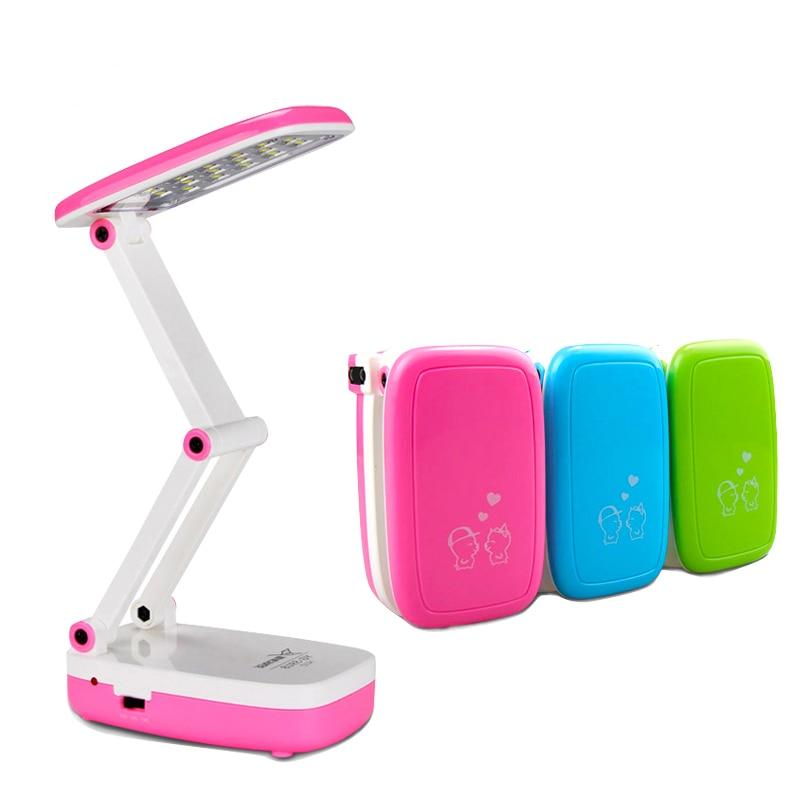 YAGE Dimmable LED Desk Lamp 24Leds Foldable Table  Led Light Night