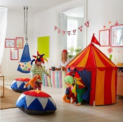 Ikea child tent game house toy tent & Ikea child tent game house toy tent-in Toy Tents from Toys ...