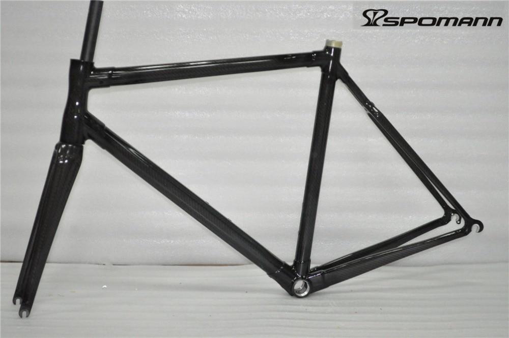 2017 Chinese Carbon Fiber Road Bike Frame Carbon Bicycle Frameset Fork Seatpost Headset 45 - 56 Cm Carbon Road Frame Bike Parts