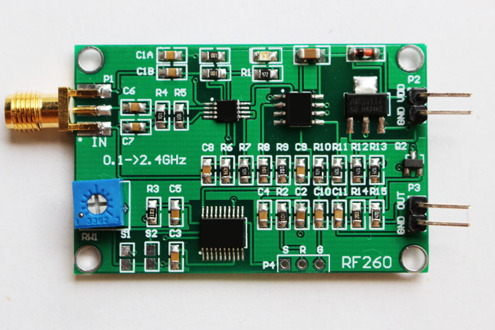 RF power module RF detector high frequency detector power measurement 0.1~2.4GHz