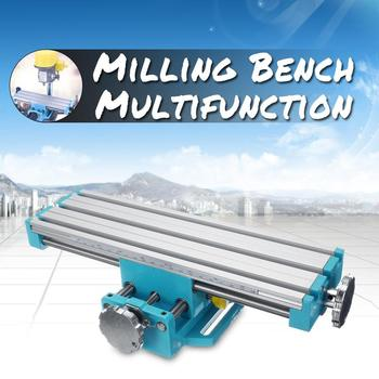 Mini Precision Multifunction Milling Drilling Machine Bench Coordinate Working Table Vise Fixture X And Y-axis Adjustable Workta