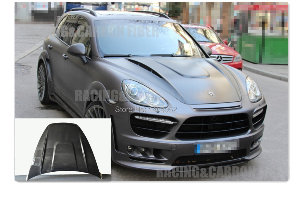 Online 2017 Cayenne Hood Bonnet Double Sided Carbon Fiber For Hm Style Nice Fitment Aliexpress Mobile