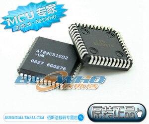 Image 1 - 20PCS AT89C51ED2 SLSUM AT89C51ED2 UM AT89C51ED2 AT89C51 PLCC44 100% new original 8 bit Flash Microcontroller IC NEW