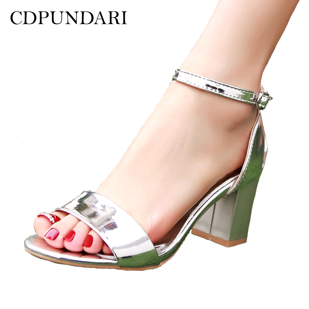 e67843d4f CDPUNDARI dames grande taille talons hauts sandales femmes ...