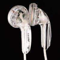Original Seahf AWK F32T In Ear Earphone DIY HIFI Bass Headset 32ohms Earbud Flat Head Plug