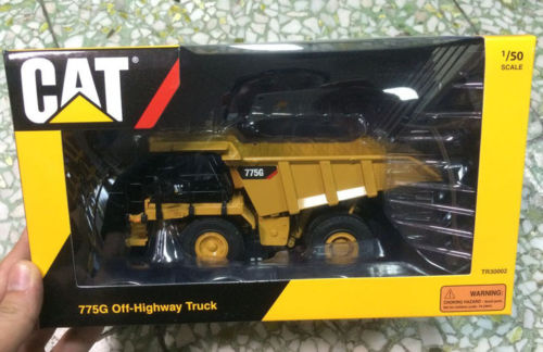 Тонкин 1/50 Caterpillar Камион самосвал Cat 775 г шоссе грузовик строительной техники TR30002 ...