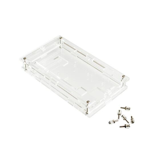1PCS   Enclosure Transparent Gloss Acrylic Box Compatible for arduino Mega 2560 R3 Case