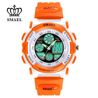 Smael waterproof sports watches children s quartz chronograph led dual display clock child outdoor digital watch.jpg 200x200