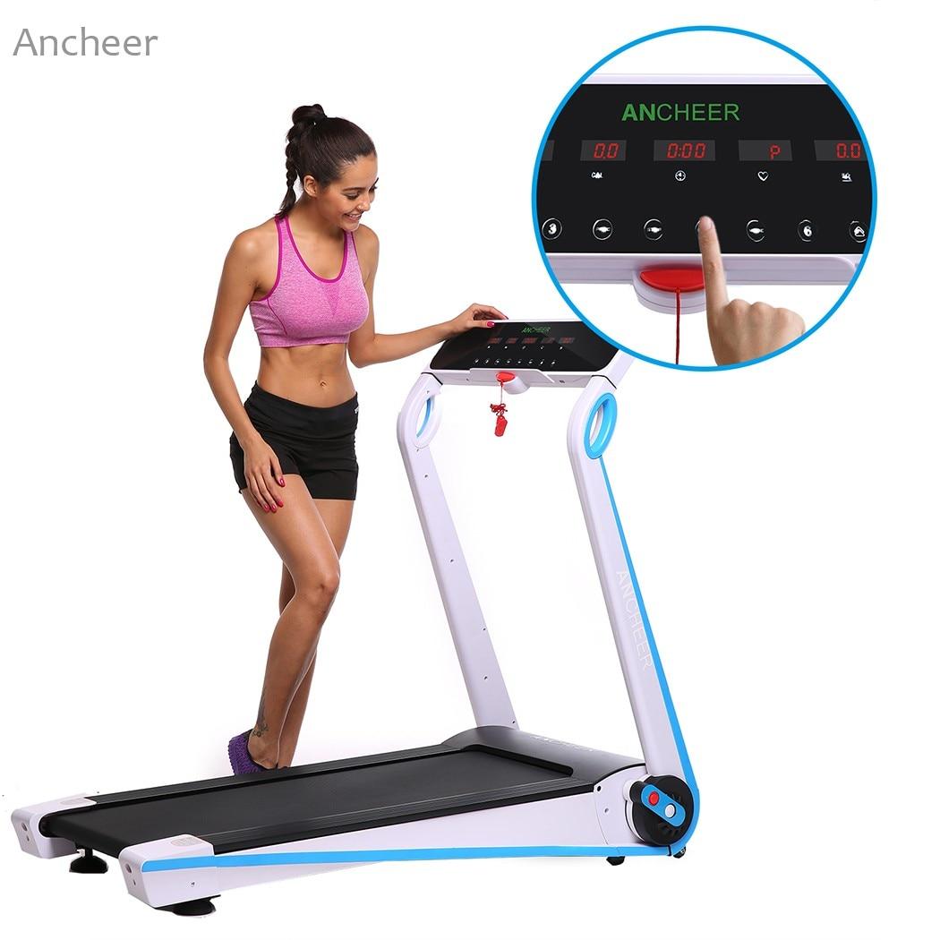 0.65-1.75HP Qaçış zolağı Fitness Qatlanan Elektrikli Koşu - Fitness və bodibildinq - Fotoqrafiya 5