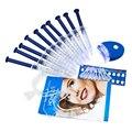 Equipo Dental Blanqueador de Dientes Sistema de Blanqueamiento de Dientes 44% de Peróxido de Blanqueamiento Dental Oral Gel Caliente Kit Blanqueador de Dientes 10 paquetes/lot