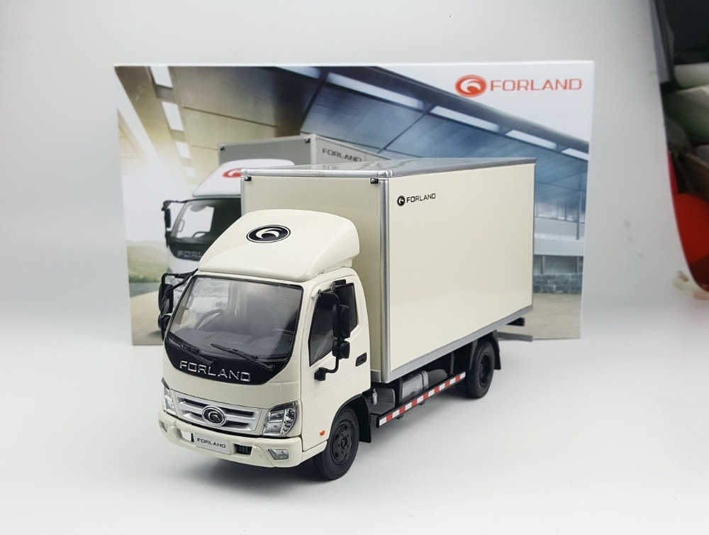 Collectible Alloy Toy Model Gift 1:24 Foton Forland Timing Aumark Delivery Van Truck Vehicles DieCast Toy Model  Decoration