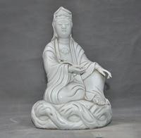 christmas China Dehua White Porcelain temple Ruyi Kwan yin guanyin Quanyin goddess statue halloween
