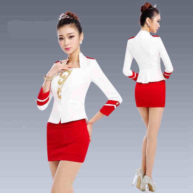 Frete grátis mangas compridas mulheres ternos de negócio ternos de estilo Formal uniforme escritório novas mulheres desgaste do trabalho feminino Blazer terno de saia