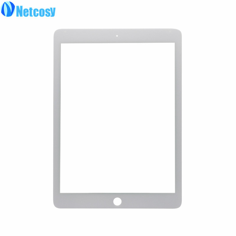Netcosy For ipad Pro LCD glass Front Outer Touch Screen Glass Lens Replacement part For ipad Pro 9.7