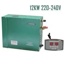 12KW200-240V 50 HZ 1 фаза хорошие цены парогенератор CE сертифицированный, с ST-135A контроллером, дома/коммерческого отличной работы