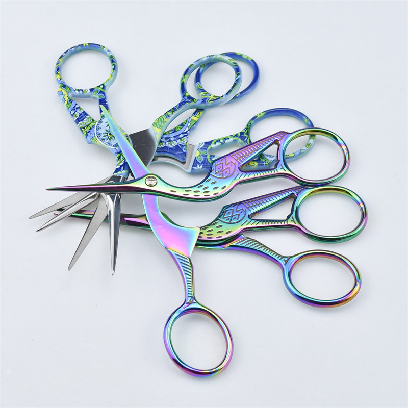 New Crane Shaped Cross Stitch Scissors Embroidery Sewing Tools Women Sewing Tailor Scissor Handcraft DIY Tool Accessories in Sewing Tools Accessory from Home Garden