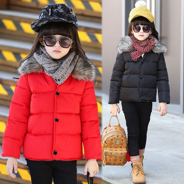 Hot Sale 2015 New Detachable Fur Collar Boys,Girls Winter Coat,Winter Jackets For Girls,Boys,Boys Winter Jacket,Height 105-145CM