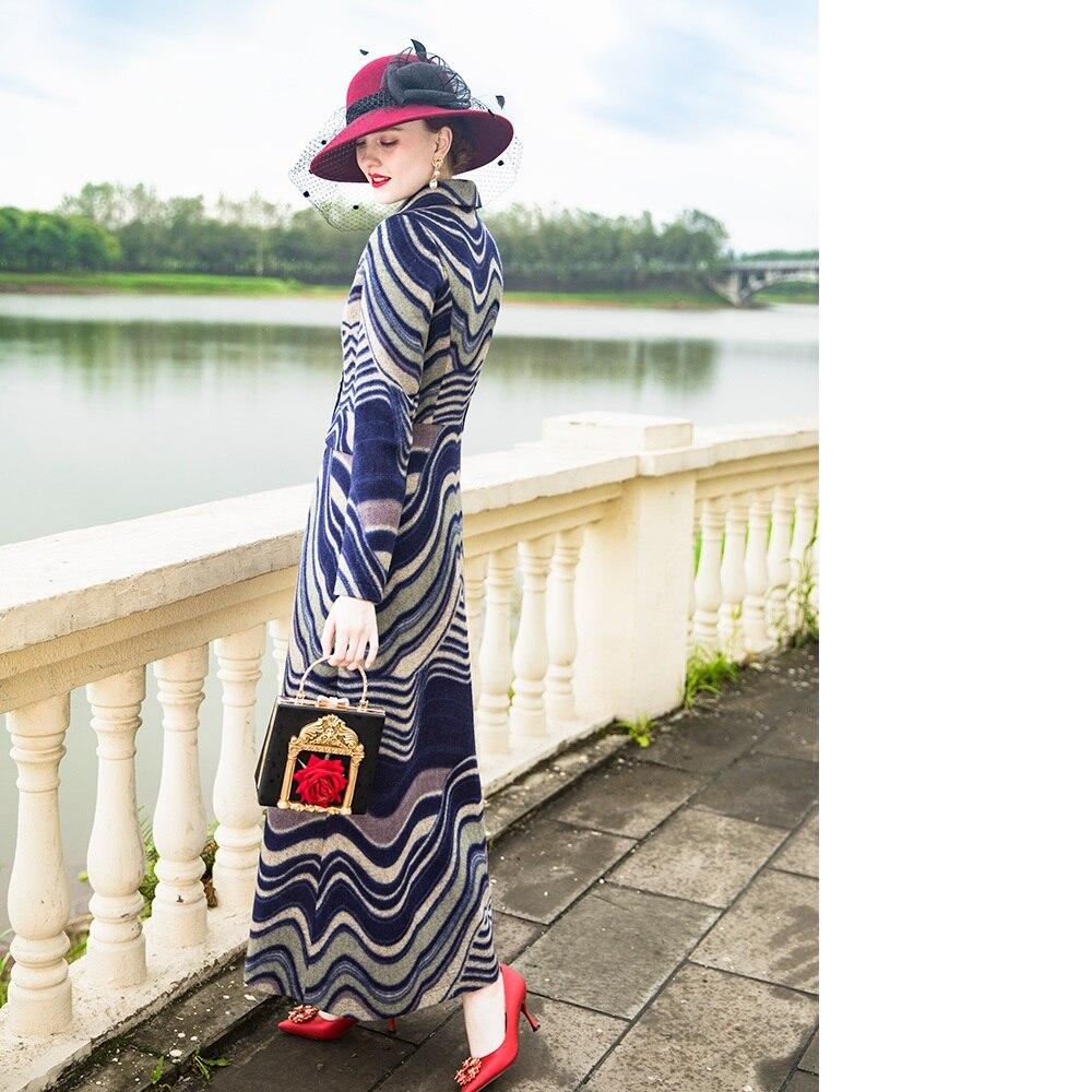 Nouveau Survêtement Vintage Unique Tranchée Chaud Qualité Motif Hiver Taille Femmes Jacquard Plus Manteau Poitrine Femelle Xxxl Top Manteaux UzMVpjSLqG