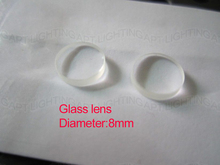 NEW 2pcs Quality 808nm laser diode focus glass lens/ Collimating lens / Diameter 8mm