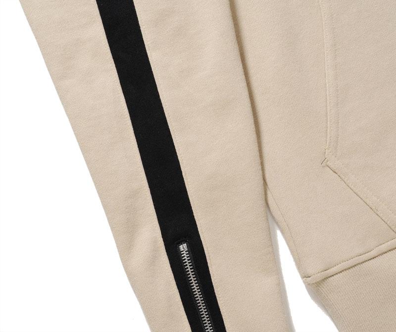 Zipper Sleeve Hoodies 9