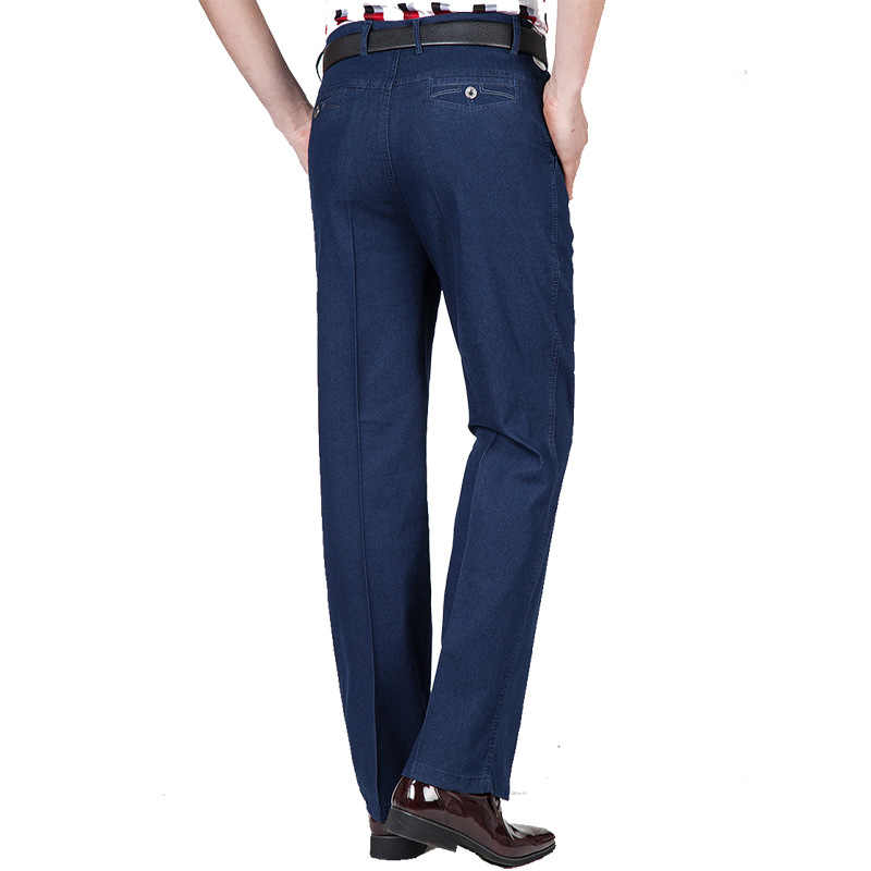 Quần Jean Nam Vào Mùa Thu Và Mùa Đông Cao Cấp Đàn Hồi Kinh Doanh Quần Jean Áo Quần Quần Jeans Lửng Plus Size Nam