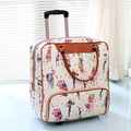 22 INCH  22# 22 PU cute female Korean hand travel and bulk landing chassis waterproof bag #EC FREE SHIPPING