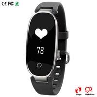 Ssmarwear Heart Rate Smart Band S3 Elegant Female Bracelet IP67 Waterproof Sports Health Fitness Tracker Girl